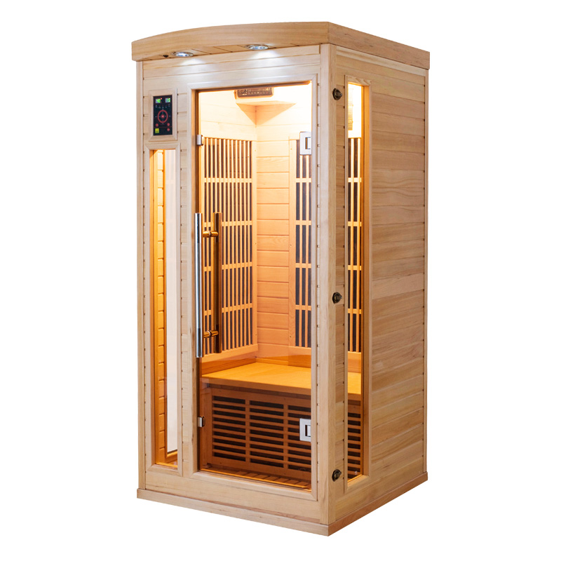 sauna infrarouge apollon- 1 place par france sauna - Cabine Sauna Exterieur