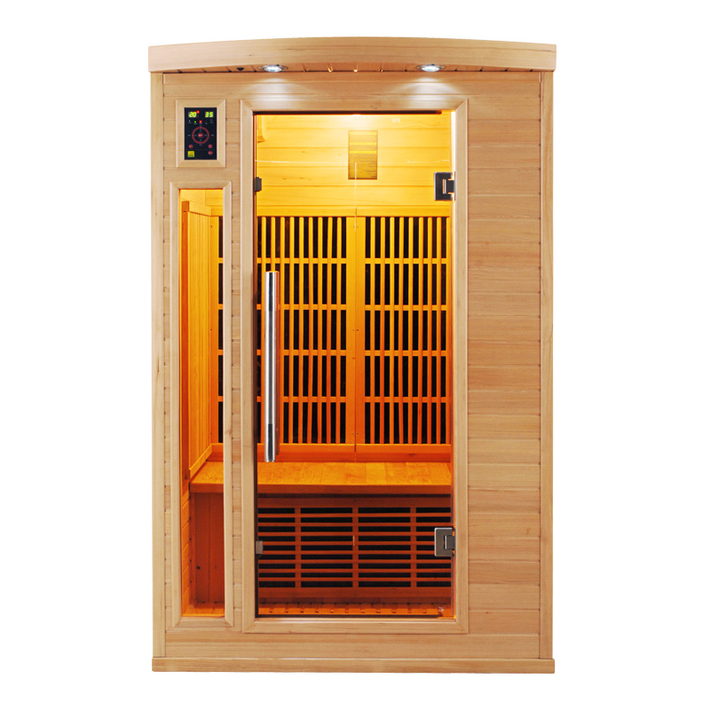 Sauna infrarouge apollon 2 places france sauna - Sauna infrarouge 2 places ...