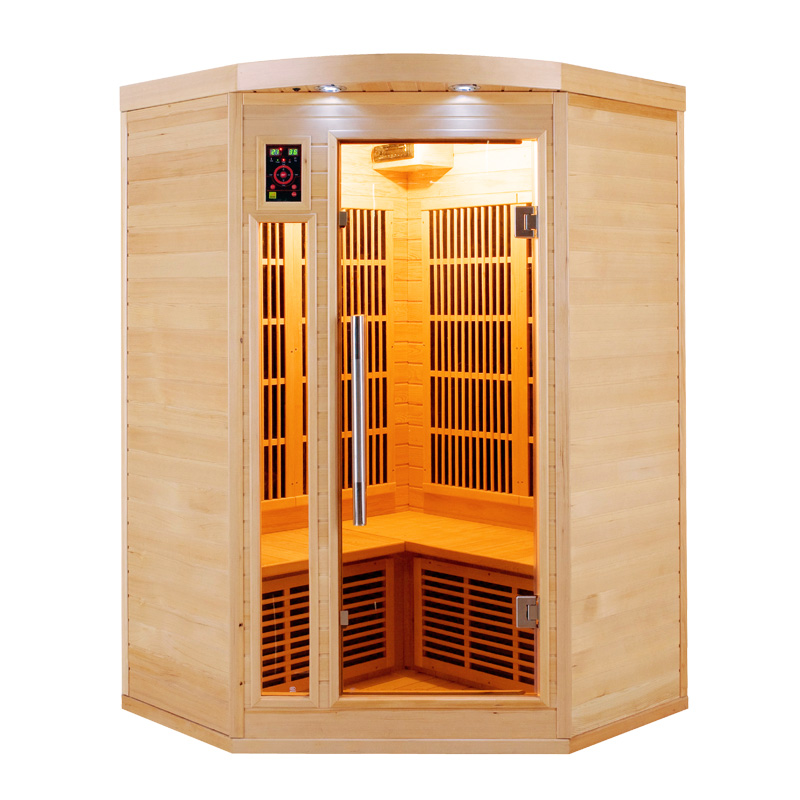 sauna infrarouge 2 places. Black Bedroom Furniture Sets. Home Design Ideas