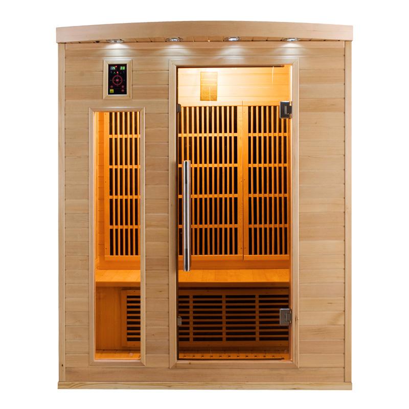 Sauna infrarouge apollon 3 places france sauna - Sauna infrarouge 1 place ...
