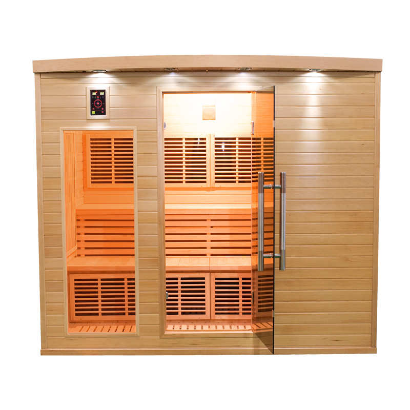 Sauna infrarouge apollon 5 places france sauna - Sauna infrarouge 4 places ...