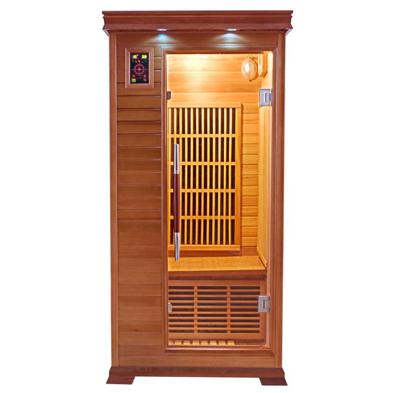 Sauna infrarouge luxe 1 place france sauna - Sauna infrarouge 2 places ...