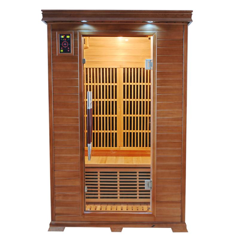 Sauna infrarouge luxe 2 places france sauna - Sauna infrarouge 1 place ...