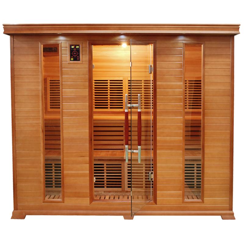 Sauna infrarouge luxe 5 places france sauna - Sauna infrarouge 1 place ...