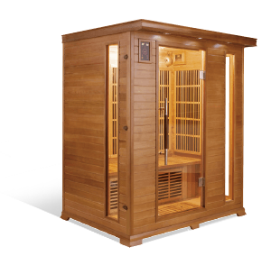 Sauna Luxe 3 places