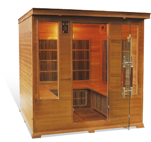 Sauna Luxe 5/6 places